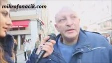 Taksim Delisi Cenk'in Röportaj Sonunda Kıçını Göstermesi