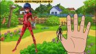 Miraculous LadyBug Finger Family | Finger Family Songs Nursery Rhymes Lyrics