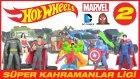Oyuncak Araba Yarışı Hot Wheels Süper Kahramanlar Ligi 2. Hafta