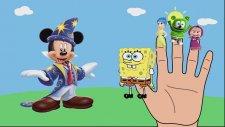 #SpongeBob SquarePants #Inside Out #Gummy Bear #masha #mickey mouse #Finger Family Song