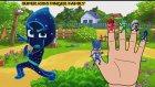 The PJ Masks Heroes in Finger Family | Nursery Rhymes For Kids Songs