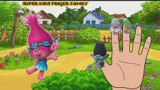 Trolls Finger Family   Nursery Rhymes For Children   Kids Songs