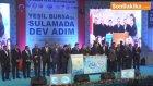 Bakan Eroğlu, Toplu Temel Atma Törenine Katıldı