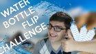 Water Bottle Flıp Challenge! -  Su Şişesi Çevirmek! - Burak Oyunda