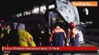 Yolcu Otobüsü Kamyona Çarptı: 13 Yaralı
