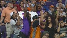 Phoenix Suns Taraftarları - Mannequin Challenge Rekoru