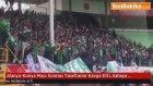 Alanya-Konya Maçı Sonrası Taraftarlar Kavga Etti