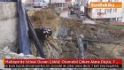 Maltepe'de İstinat Duvarı Çöktü! Otomobil Çöken Alana Düştü, 7 Katlı Bina Boşaltıldı