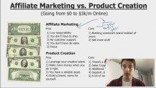 Affiliate Marketing vs Product Creation