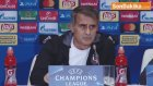 Besiktas Jk's Press Conference In Kiev