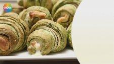 Katmer Poğaça Tarifi (İki Renkli) - Yemek Tarifleri