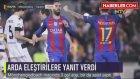 M'Gladbach Maçında Arda Turan Asist Yaptı, Messi Golü Attı