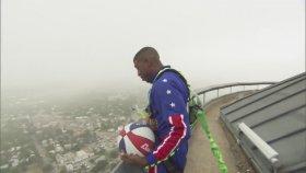 583 Feet Yükseklikten Basket Atmak