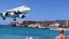 Çok Acaip Havaalanı Uçak Nereden Geçiyor