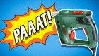 Zımba Makinesi ile Balon, Kutu Kola Patlattık