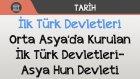 İlk Türk Devletleri - Orta Asya'da Kurulan İlk Türk Devletleri / Asya Hun Devleti