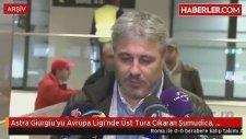 Astra Giurgiu'yu Avrupa Ligi'nde Üst Tura Çıkaran Şumudica, G.Antepspor'a Gidiyor