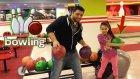 Bowling Oyunu Oynadık Sizce Kim Yendi ? Melike VS Serkan Abi | VLOG