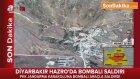 Hazro'da Jandarma Karakoluna Bombalı Araçla Saldırı Düzenlendi