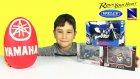 Yamaha Oyun Hamuru DEV Sürpriz Yumurta Açma Oyuncak Motorlar