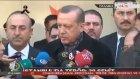 Cumhurbaşkanı Erdoğan: Biz Korkup Meydanı Bu Alçaklara Bırakacak Kadar Alçalmadık