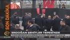 Cumhurbaşkanı Erdoğan 'Şehitler Tepesi'nde