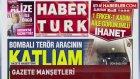 Beşiktaş Saldırısını Gerçekleştiren Teröristlerin Araç İçindeki Görüntüsü