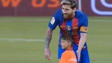 Lionel Messi ve Afgan Çocuk Murtaza'nın Buluşması