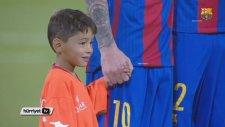 Messi ile Murtaza'nın Buluşması