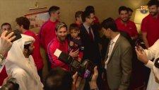 Minik Murtaza Lionel Messi'yle Buluştu!
