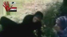Suriye ÖSO teröristlerinin kadınlara işkencesi Suriye Gerçekleri