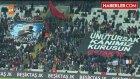 """Taraftarlar, Vodafone Arena'da """"Vatan Sana Canım Feda"""" Tezahüratı Yaptı"""