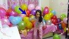 Yüzlerce Balonu Saniyeler İçinde Pattık Melike Çıldırmış Olmalı :)