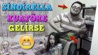 Sindirella Saçlarını Yaptırmak İçin Acemi Kuaföre Giderse Ne Olur? | Skeç Komedi Videosu