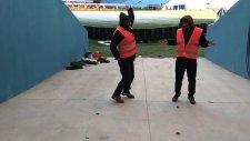 Trabzonspor'un Yeni Stadında Kuğu Dansı
