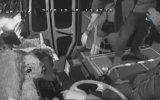 Otobüs Şoförünü Tekme Tokat Dövmek