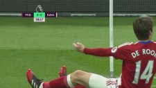 De Roon'un Swansea ağlarına attığı gol