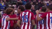 Saul Niguez'in Las Palmas'a attığı gol