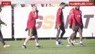 Galatasaray, Osmanlıspor Maçı Öncesinde Soğuğa Karşı Tedbir Aldı