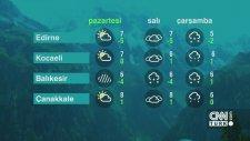 19 Aralık Pazartesi 2016 - Hava Durumu