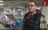 Aracını Streç Film İle Saran Modifiye Hastası