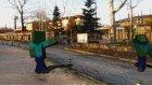 Minecraft Real Life   Gerçek Hayat Kıvrak Zombiler