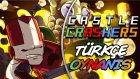 KARDEŞ NAPIYOSUN KAFAMA GELDİ / Castle Crashers : Türkçe Oynanış - Bölüm 4