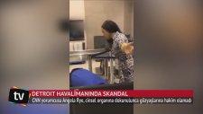 CNN Muhabiri Angela Rye'ın Cinsel Organına Dokununca Gözyaşlarına Boğuldu