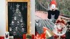 Kara Tahta Yılbaşı Ağacı / KENDİN YAP/ DIY