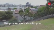 Avustralya Sydney Halep Zaferi Kutlaması