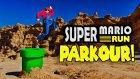 Gerçek Hayata Uyarlanan Heyecan Dolu Super Mario Run Parkuru