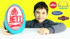 İett Oyun Hamuru Dev Sürpriz Yumurta Açma Oyuncak Otobüsler