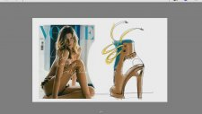 Vogue Gisele Bundchen shoes design 02