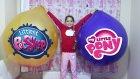 Dev Balon Patlattık Harika Pony & Miniş Challenge Yaptık | Giant Ballons